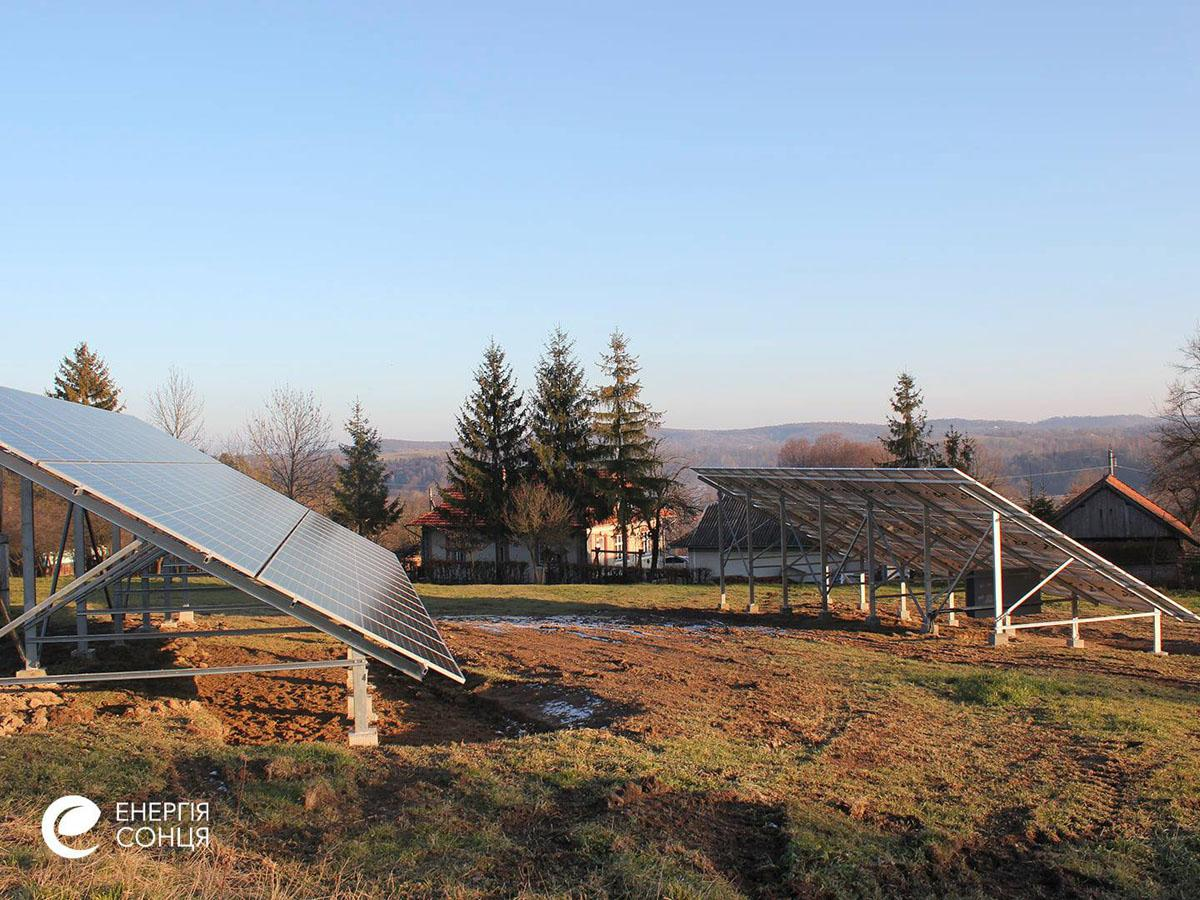 Мережева сонячна електростанція (СЕС) потужністю 38,715 кВт – Фотозвіт #3
