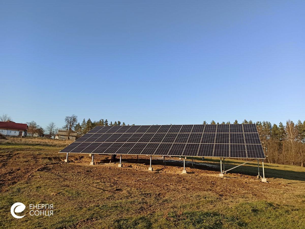 Мережева сонячна електростанція (СЕС) потужністю 38,715 кВт – Фотозвіт #4