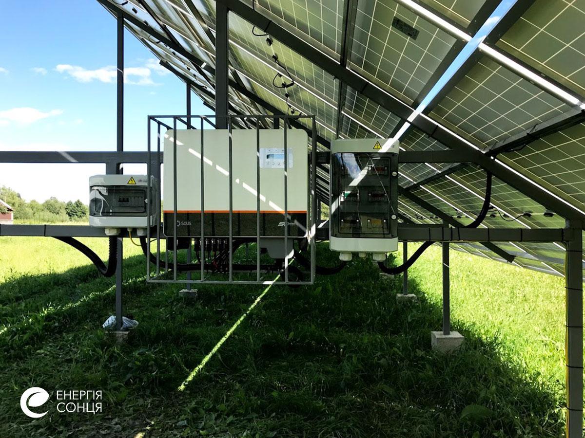 Мережева сонячна електростанція (СЕС) потужністю 36,08 кВт – Фотозвіт #4
