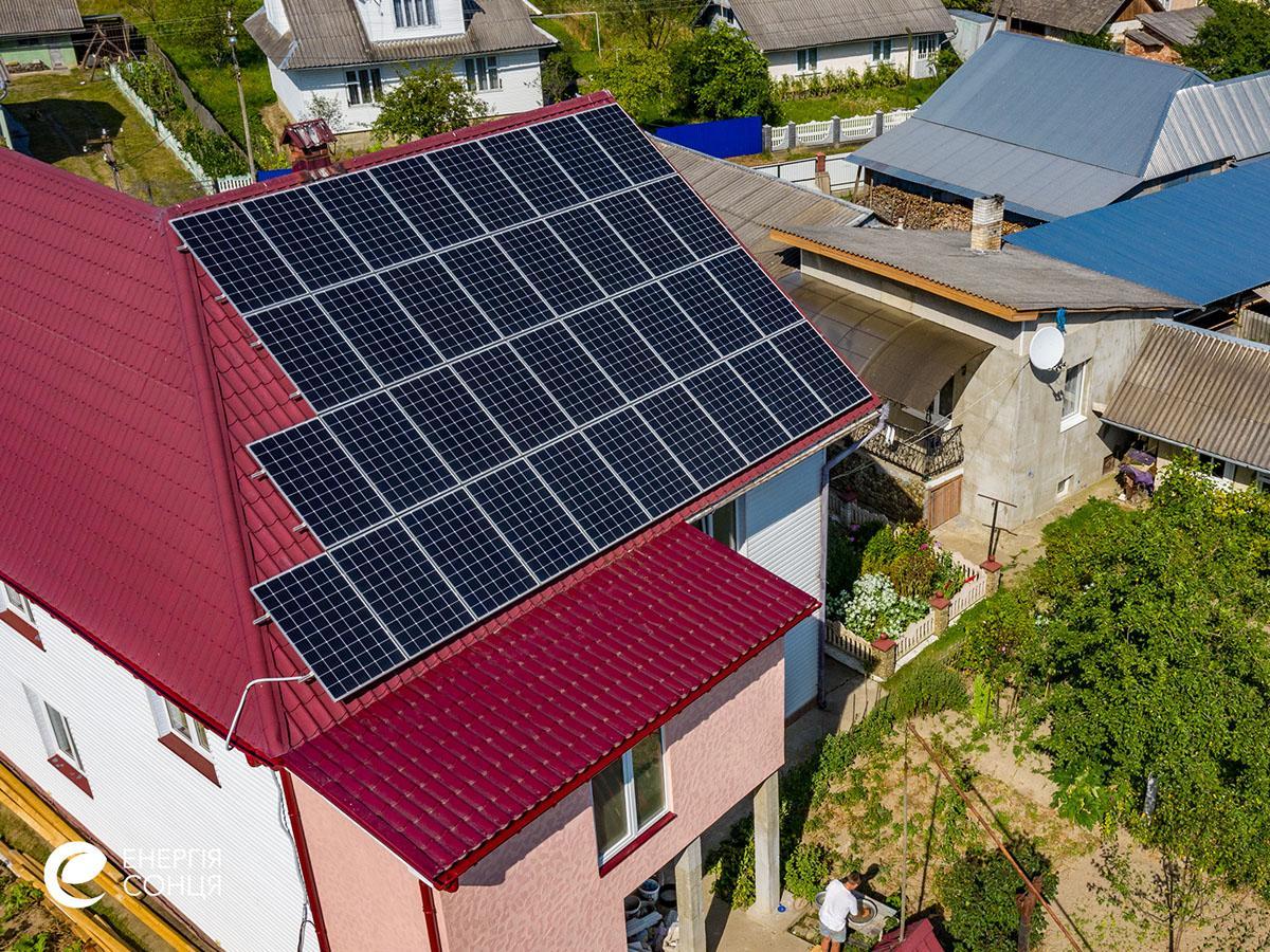 Мережева сонячна електростанція (СЕС) потужністю 32,23 кВт – Фотозвіт #4