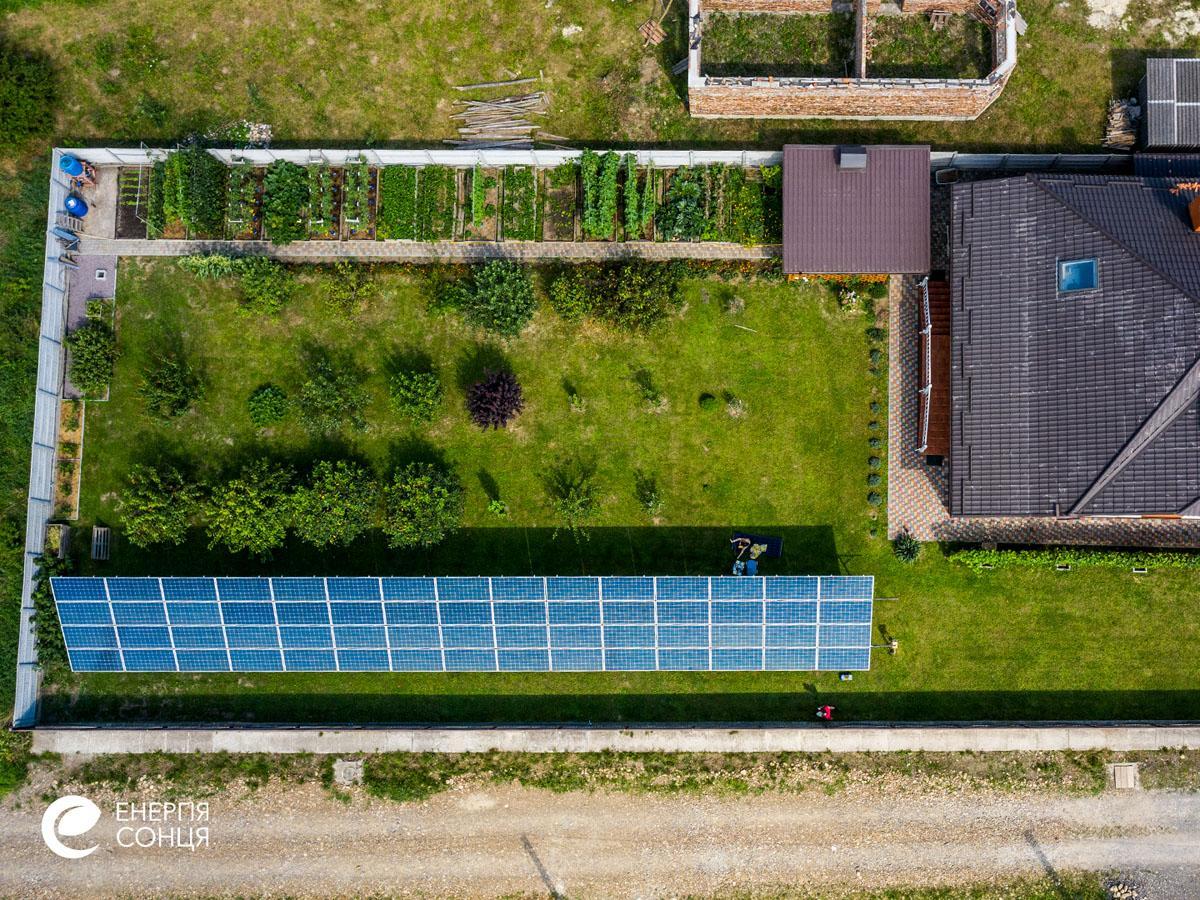 Мережева сонячна електростанція (СЕС) потужністю 21,6 кВт – Фотозвіт #5