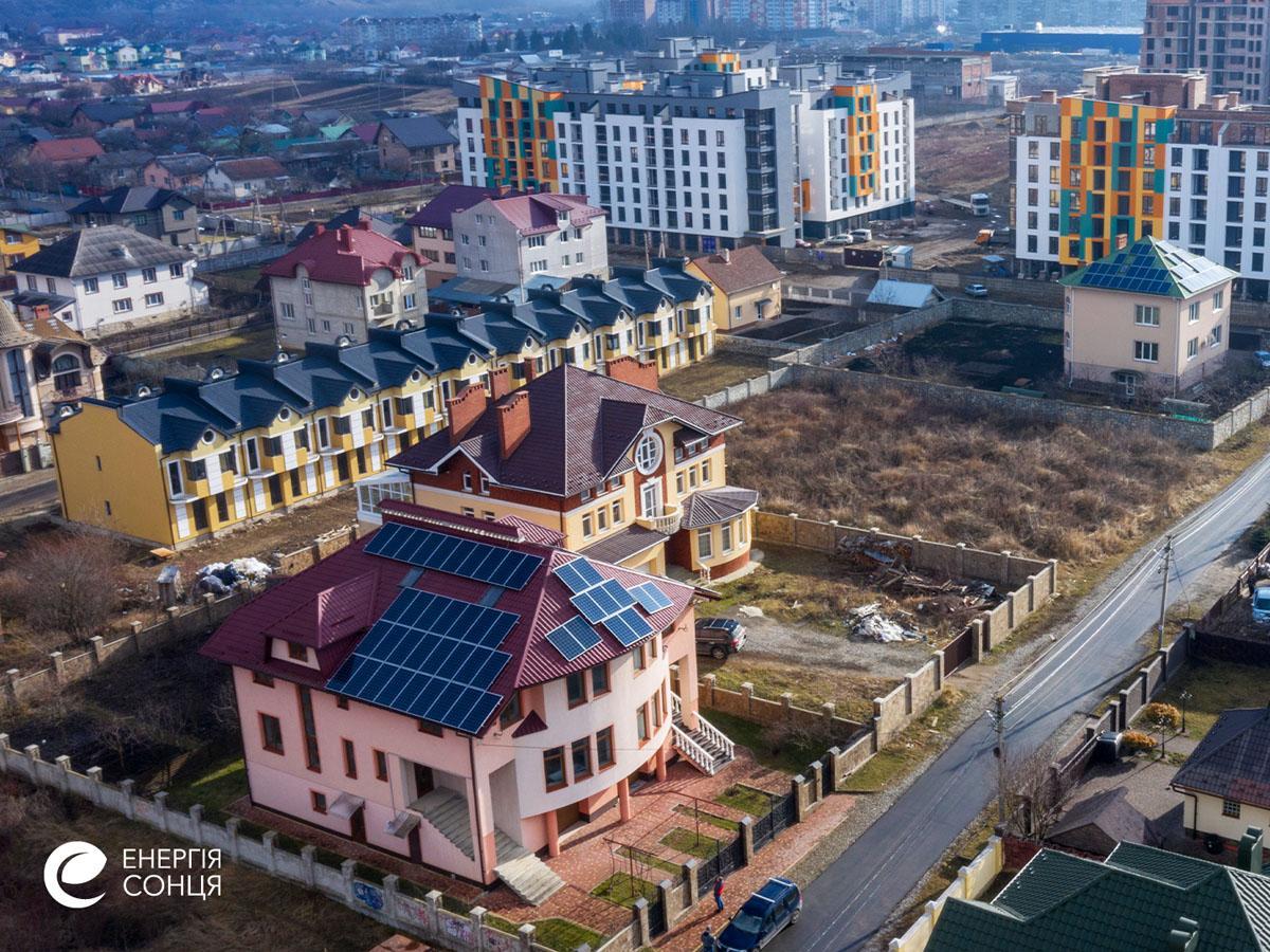 Мережева сонячна електростанція (СЕС) потужністю 27,7 кВт – Фотозвіт #5