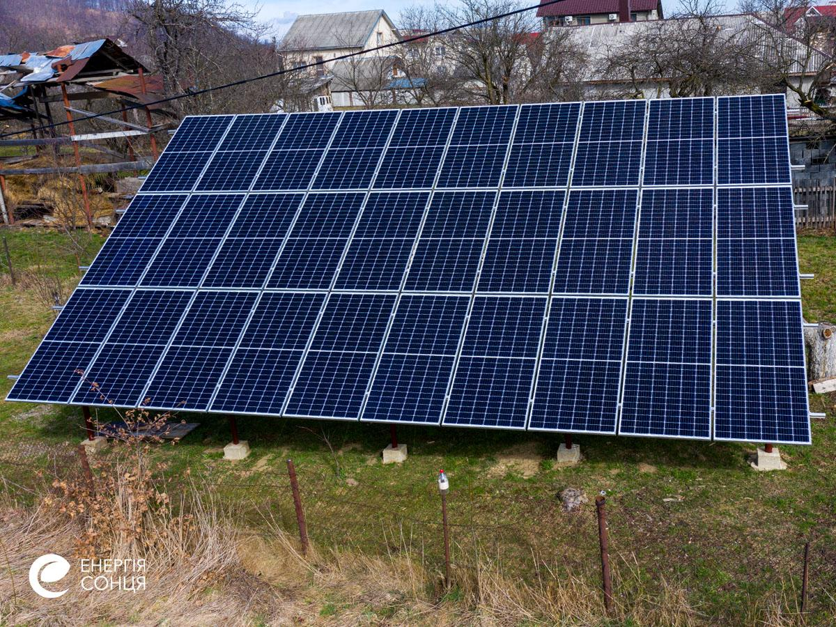 Дві мережеві сонячні електростанції (СЕС) загальною потужністю 21,39 кВт – Фотозвіт #5