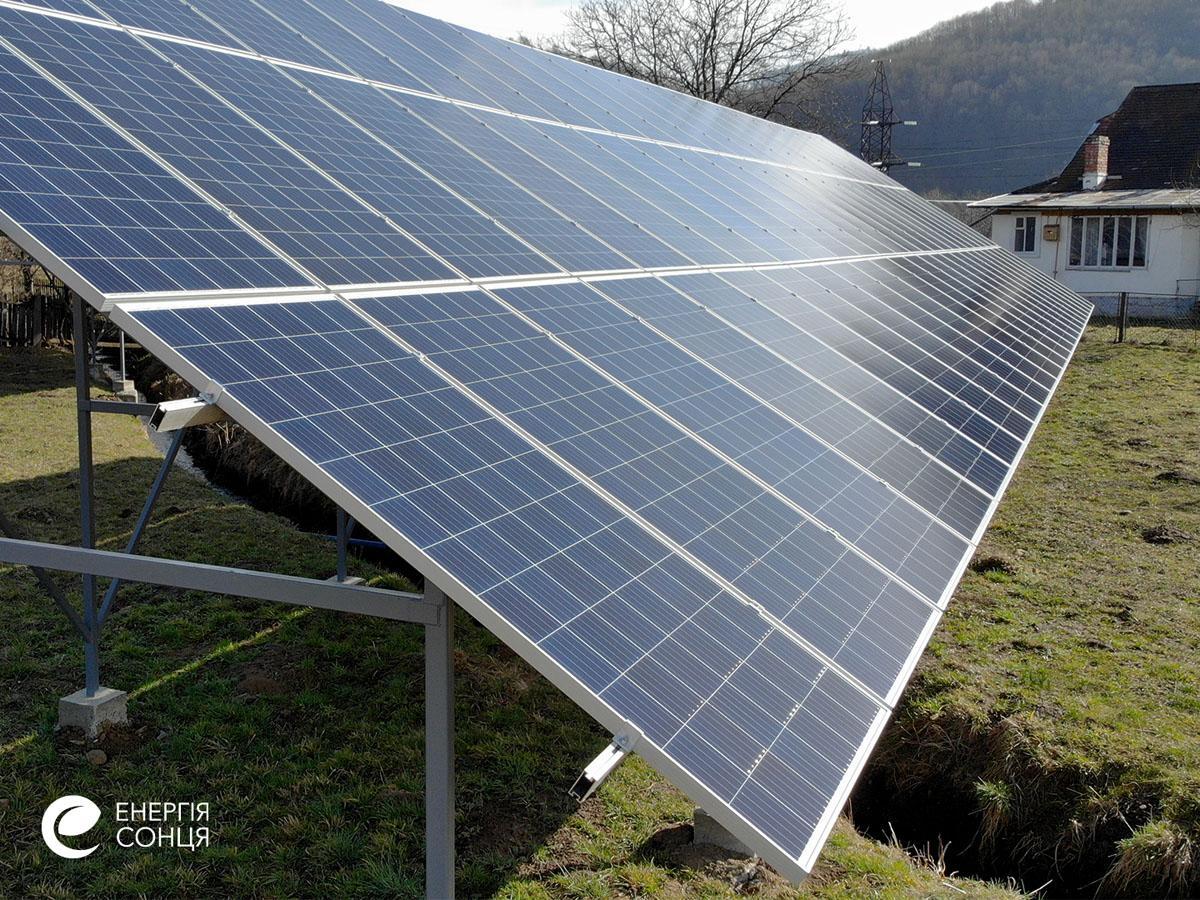 Мережева сонячна електростанція (СЕС) потужністю 36,18 кВт – Фотозвіт #3