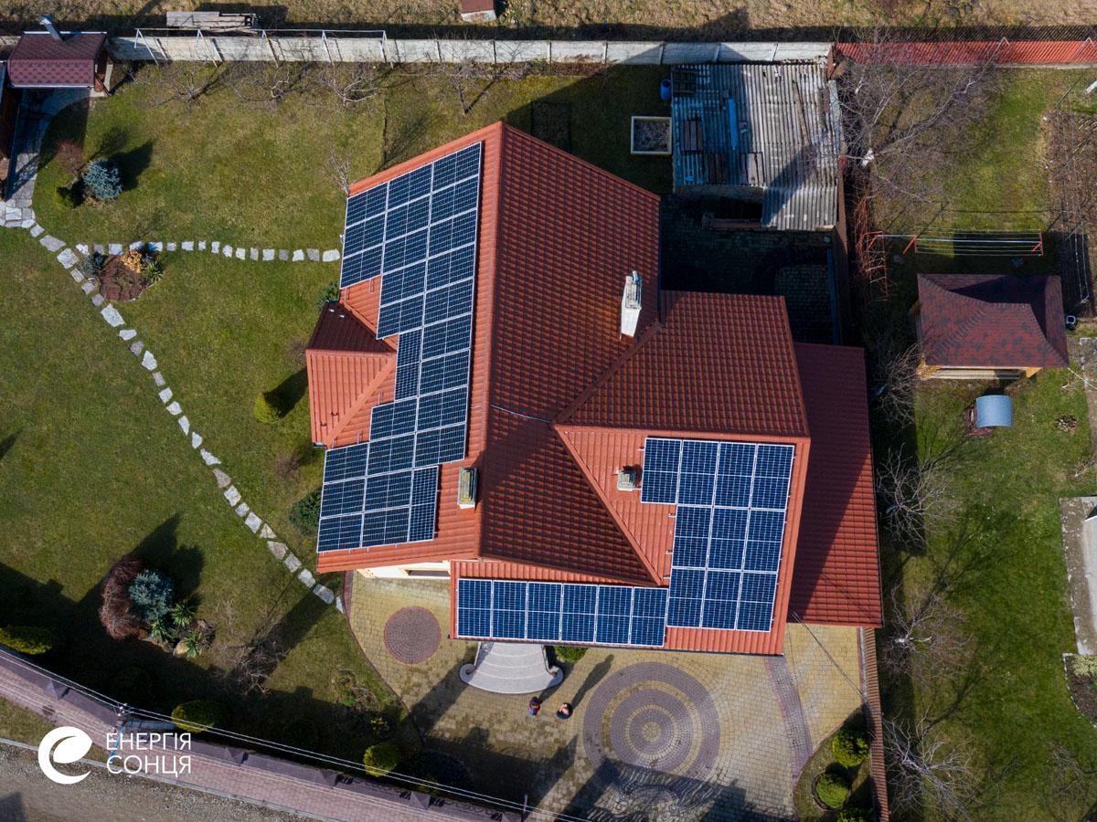 Мережева сонячна електростанція (СЕС) потужністю 15,96 кВт – Фотозвіт #5