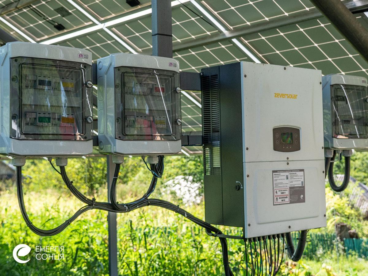 Мережева сонячна електростанція (СЕС) потужністю 35,04 кВт – Фотозвіт #5