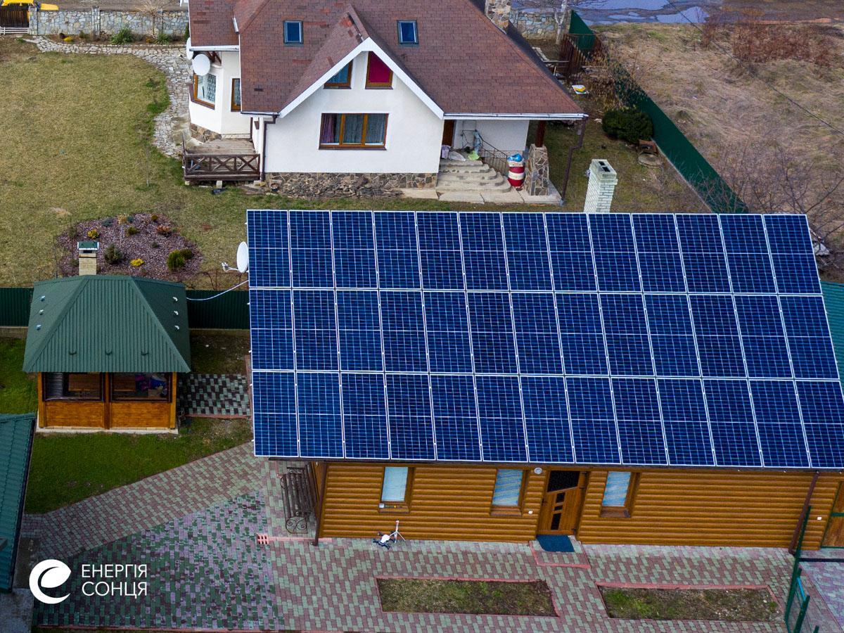 Мережева сонячна електростанція (СЕС) потужністю 15,6 кВт – Фотозвіт #4