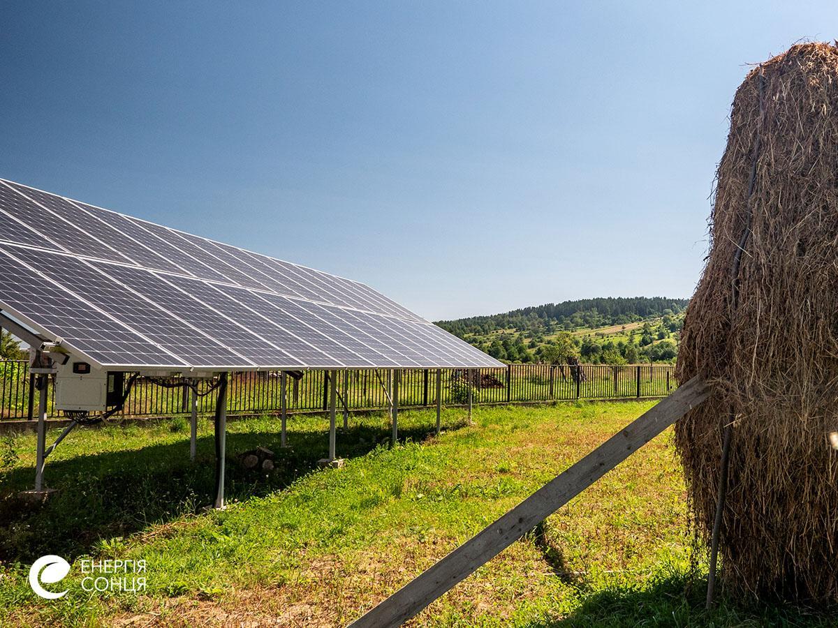 Мережева сонячна електростанція (СЕС) потужністю 38,64 кВт – Фотозвіт #5