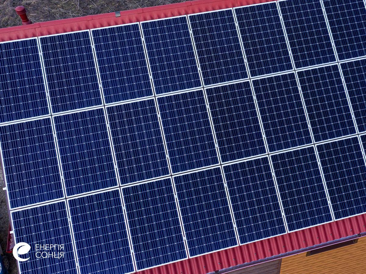 Мережева сонячна електростанція (СЕС) потужністю 8,23 кВт – Фотозвіт #5