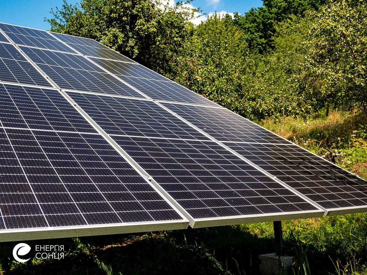 Мережева сонячна електростанція (СЕС) потужністю 18,225 кВт – Фотозвіт #5