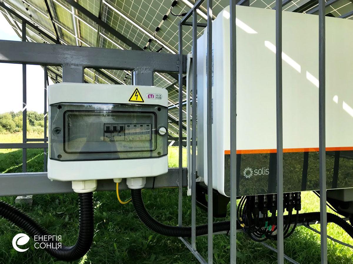 Мережева сонячна електростанція (СЕС) потужністю 36,08 кВт – Фотозвіт #5
