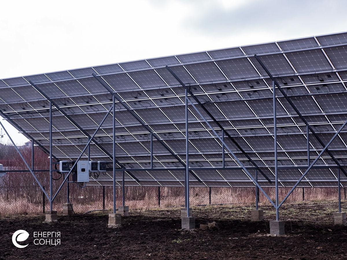 Дві мережеві сонячні електростанції (СЕС), загальною потужністю 76,05 кВт – Фотозвіт #5
