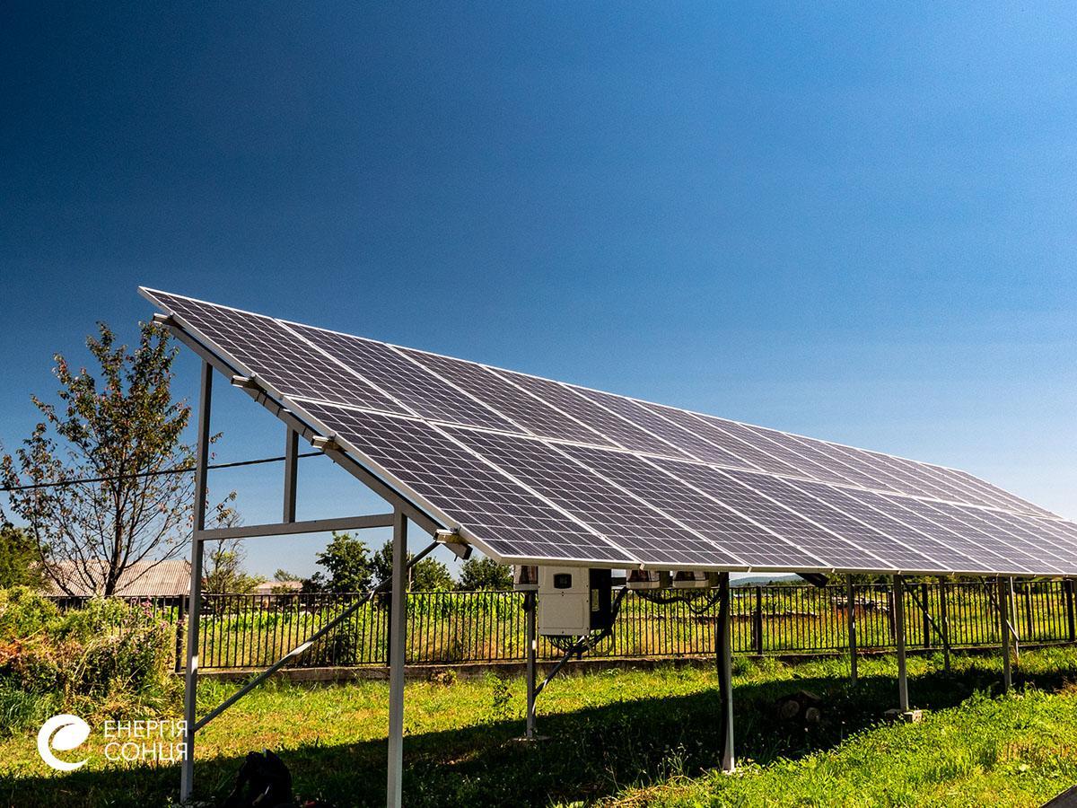 Мережева сонячна електростанція (СЕС) потужністю 38,64 кВт – Фотозвіт #6