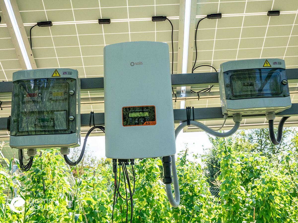 Мережева сонячна електростанція (СЕС) потужністю 18,225 кВт – Фотозвіт #6