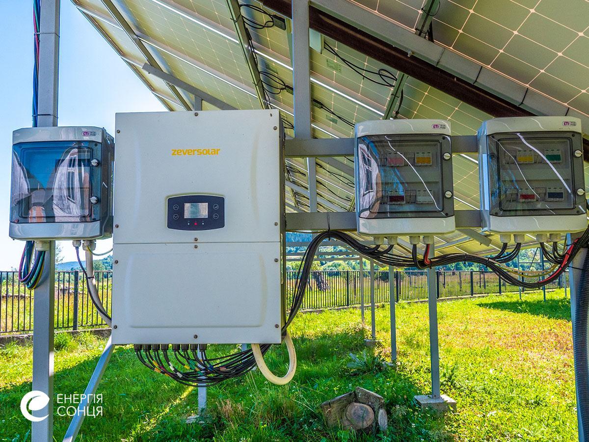 Мережева сонячна електростанція (СЕС) потужністю 38,64 кВт – Фотозвіт #7