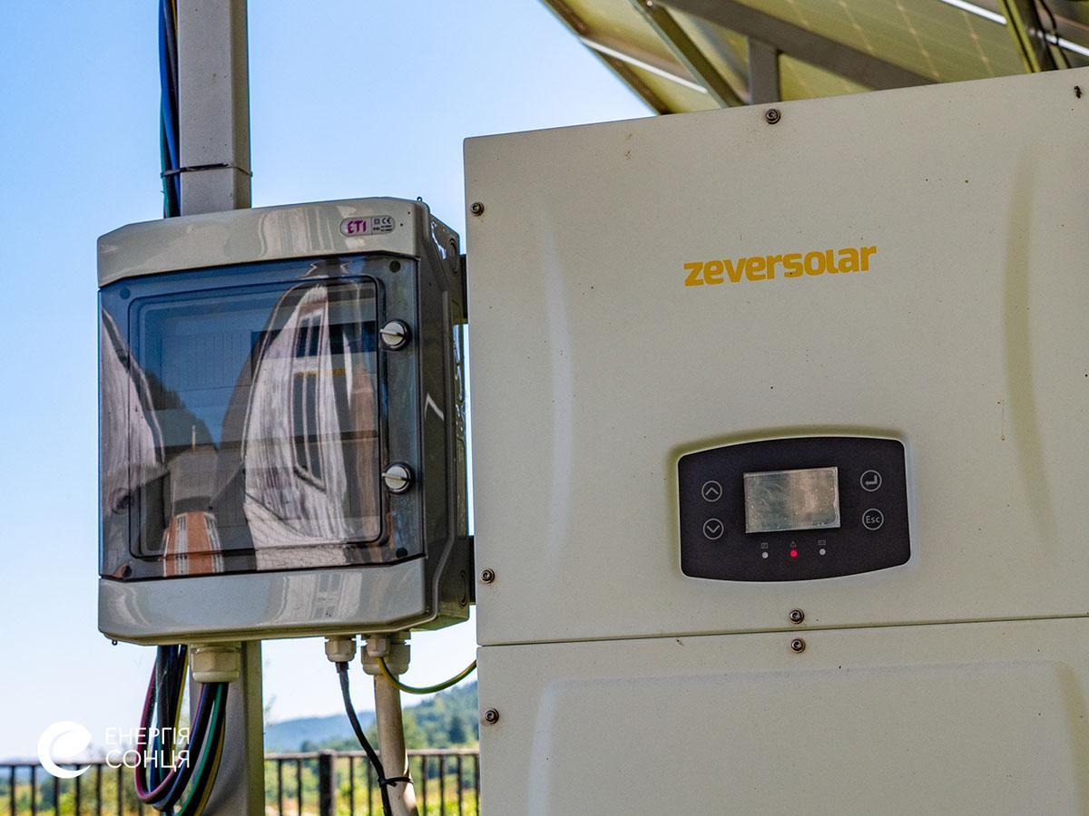 Мережева сонячна електростанція (СЕС) потужністю 38,64 кВт – Фотозвіт #8