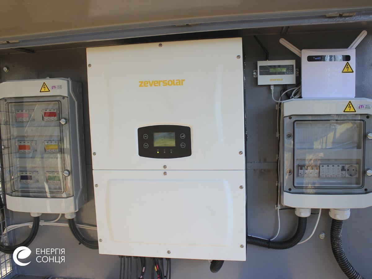 Мережева сонячна електростанція (СЕС) потужністю 38,715 кВт – Фотозвіт #6