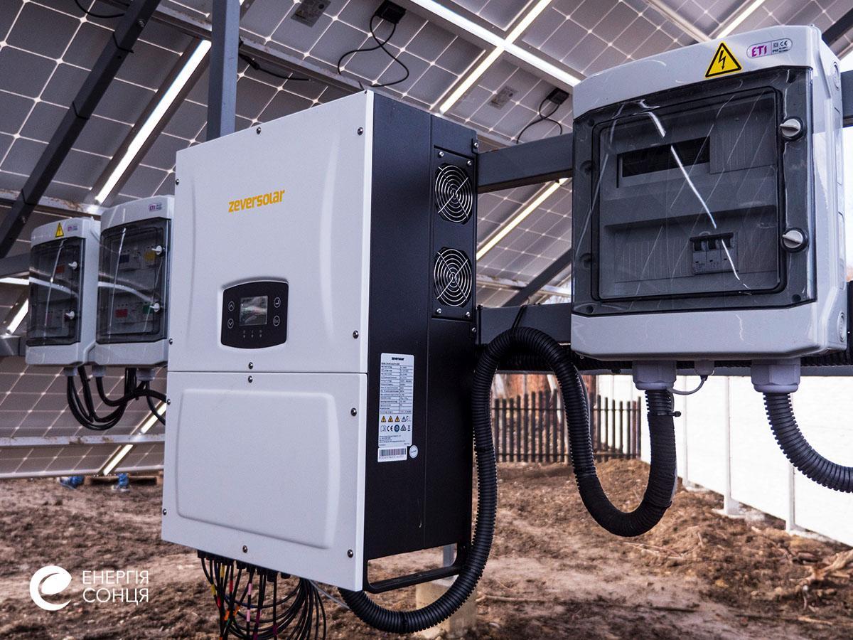 Дві мережеві сонячні електростанції (СЕС), загальною потужністю 76,05 кВт – Фотозвіт #6