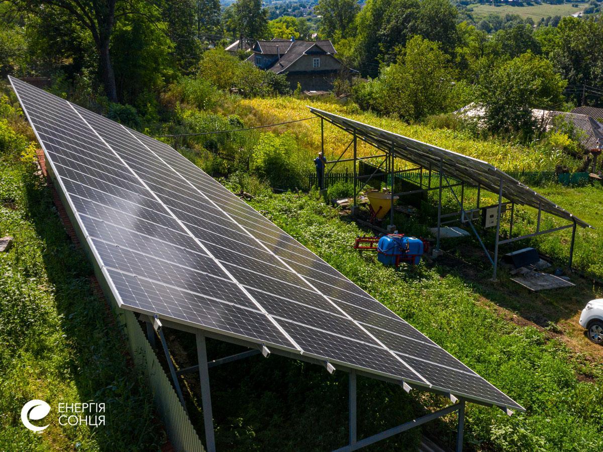 Мережева сонячна електростанція (СЕС) потужністю 35,04 кВт – Фотозвіт #4