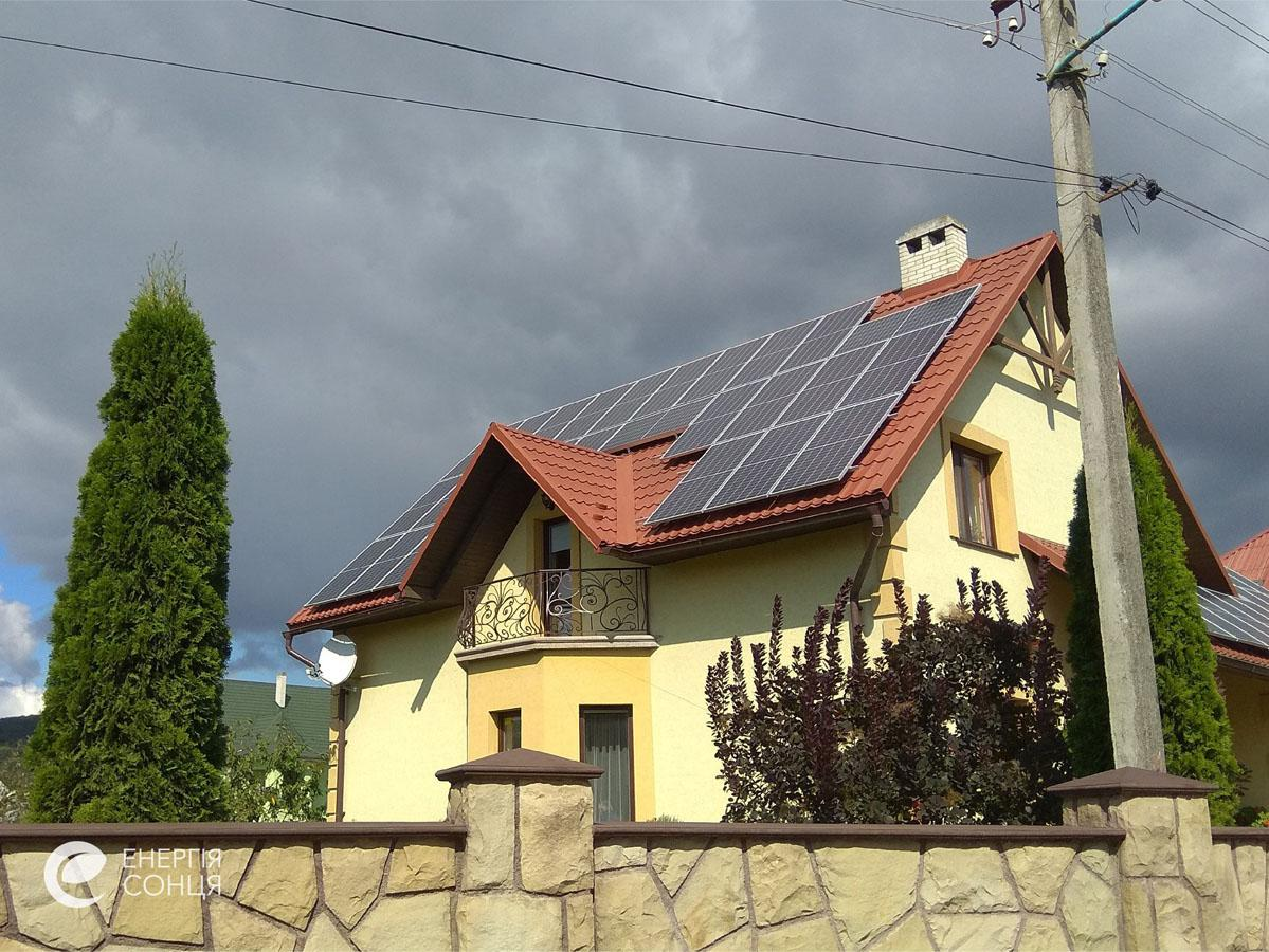 Мережева сонячна електростанція (СЕС) потужністю 15,96 кВт – Фотозвіт #2