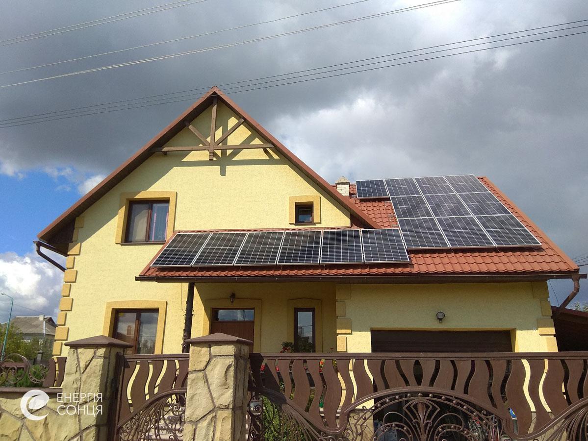 Мережева сонячна електростанція (СЕС) потужністю 15,96 кВт – Фотозвіт #3
