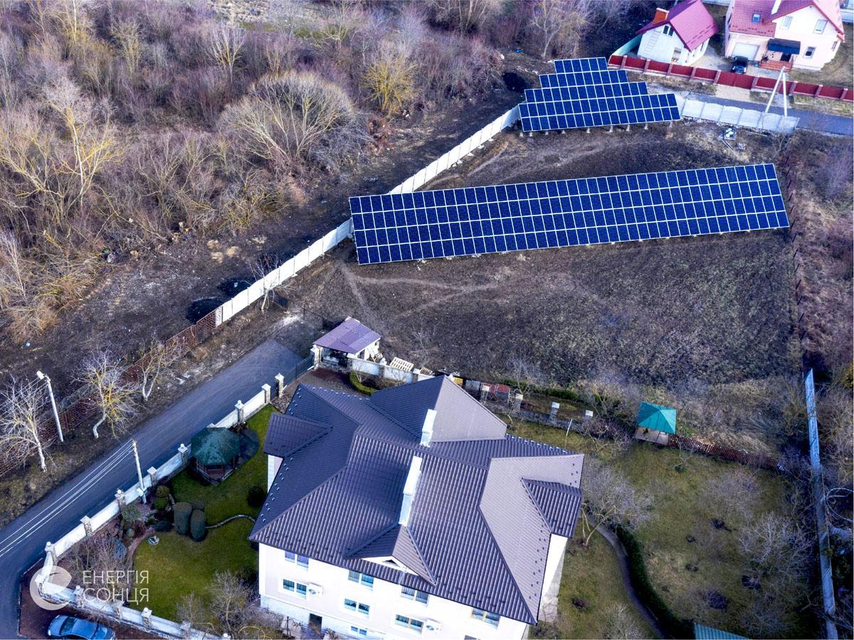 Дві мережеві сонячні електростанції (СЕС), загальною потужністю 76,05 кВт – Фотозвіт #2
