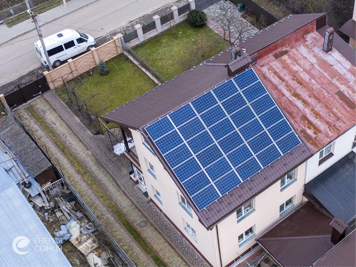 Мережева сонячна електростанція (СЕС) потужністю 7,8 кВт – Фотозвіт #2