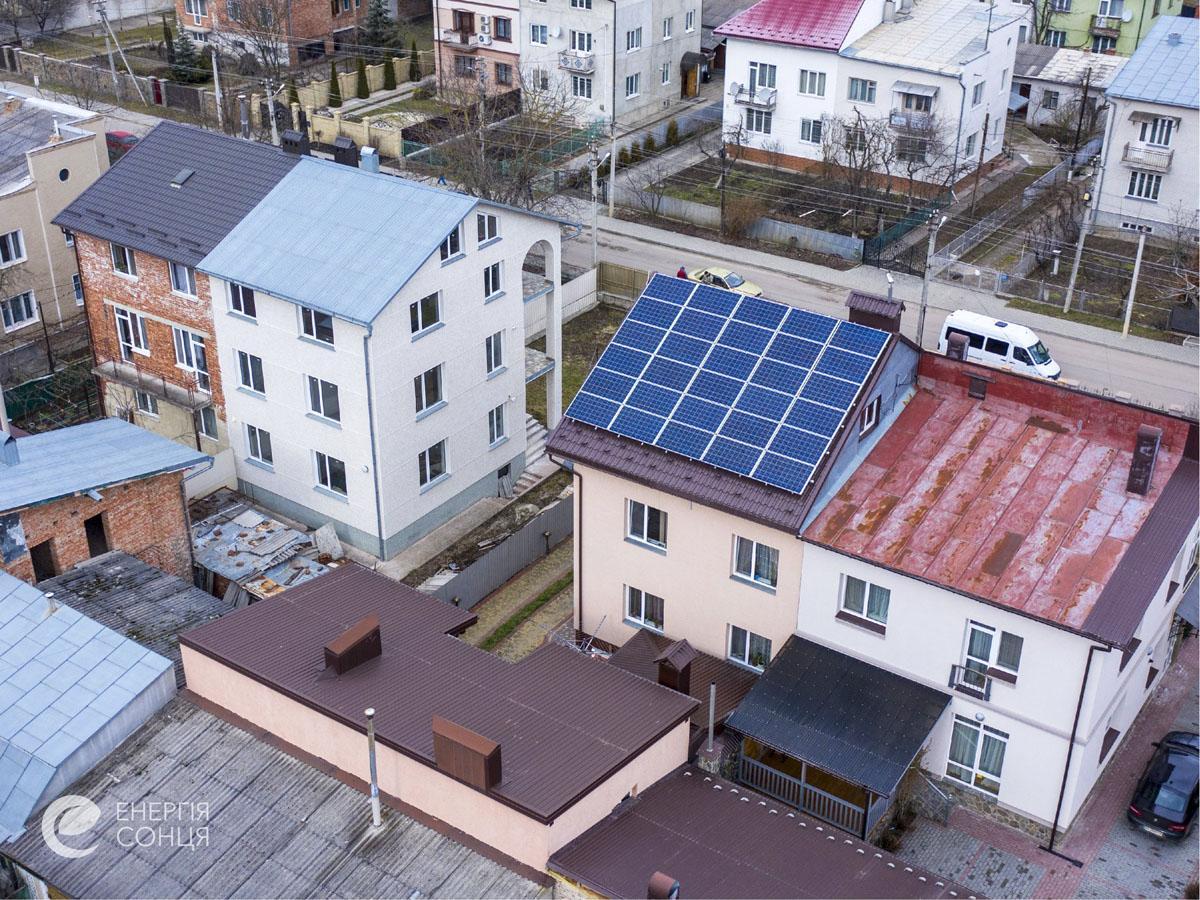Мережева сонячна електростанція (СЕС) потужністю 7,8 кВт – Фотозвіт #3
