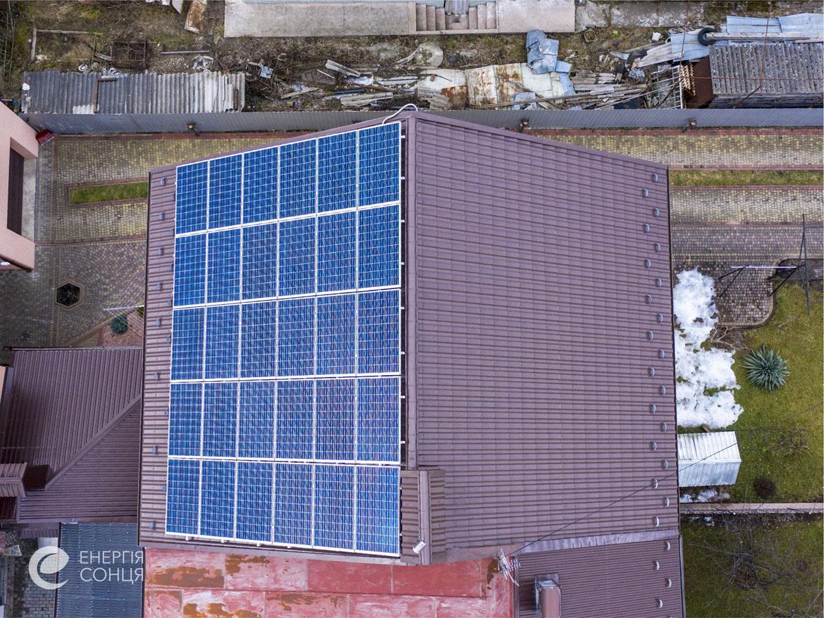 Мережева сонячна електростанція (СЕС) потужністю 7,8 кВт – Фотозвіт #4