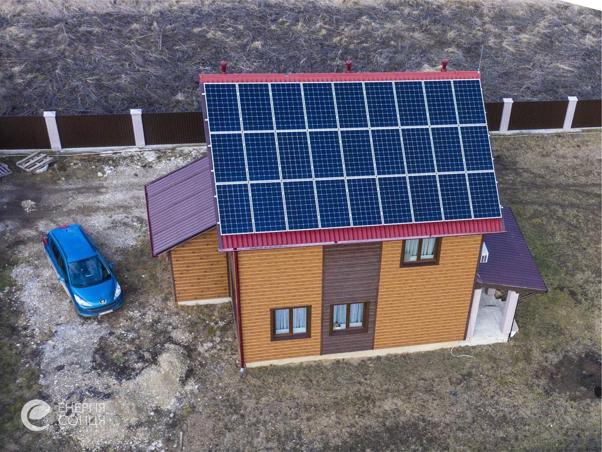 Мережева сонячна електростанція (СЕС) потужністю 8,23 кВт – Фотозвіт #3