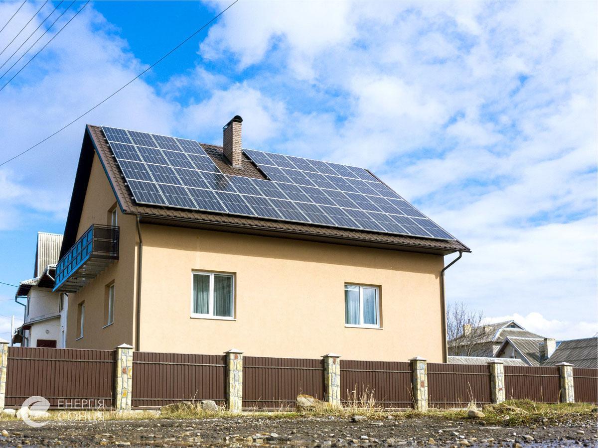 Мережева сонячна електростанція (СЕС) потужністю 16,72 кВт – Фотозвіт #2