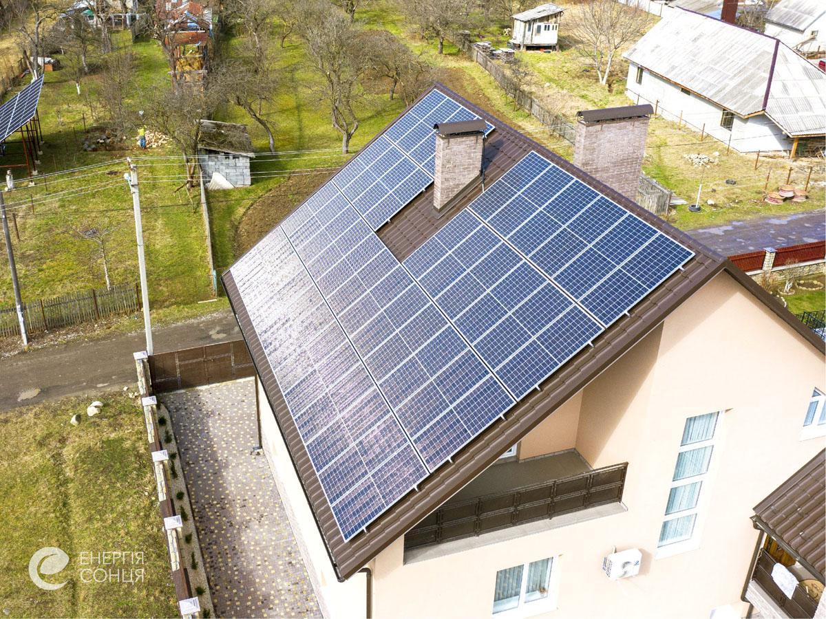 Мережева сонячна електростанція (СЕС) потужністю 16,72 кВт – Фотозвіт #4