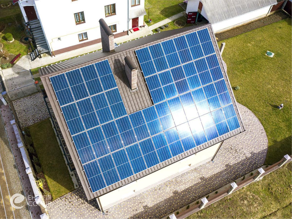 Мережева сонячна електростанція (СЕС) потужністю 16,72 кВт – Фотозвіт #3
