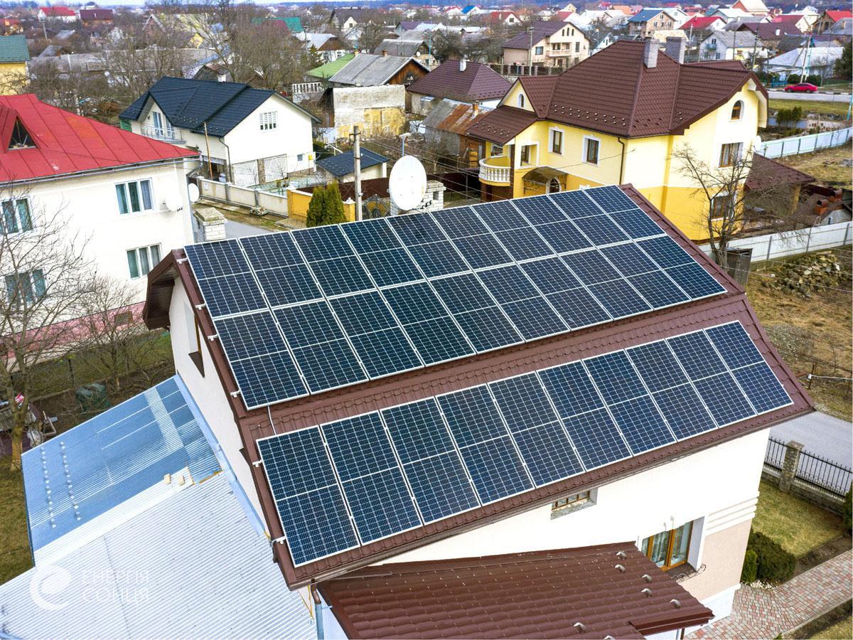 Мережева сонячна електростанція (СЕС) потужністю 12,75 кВт – Фотозвіт #2