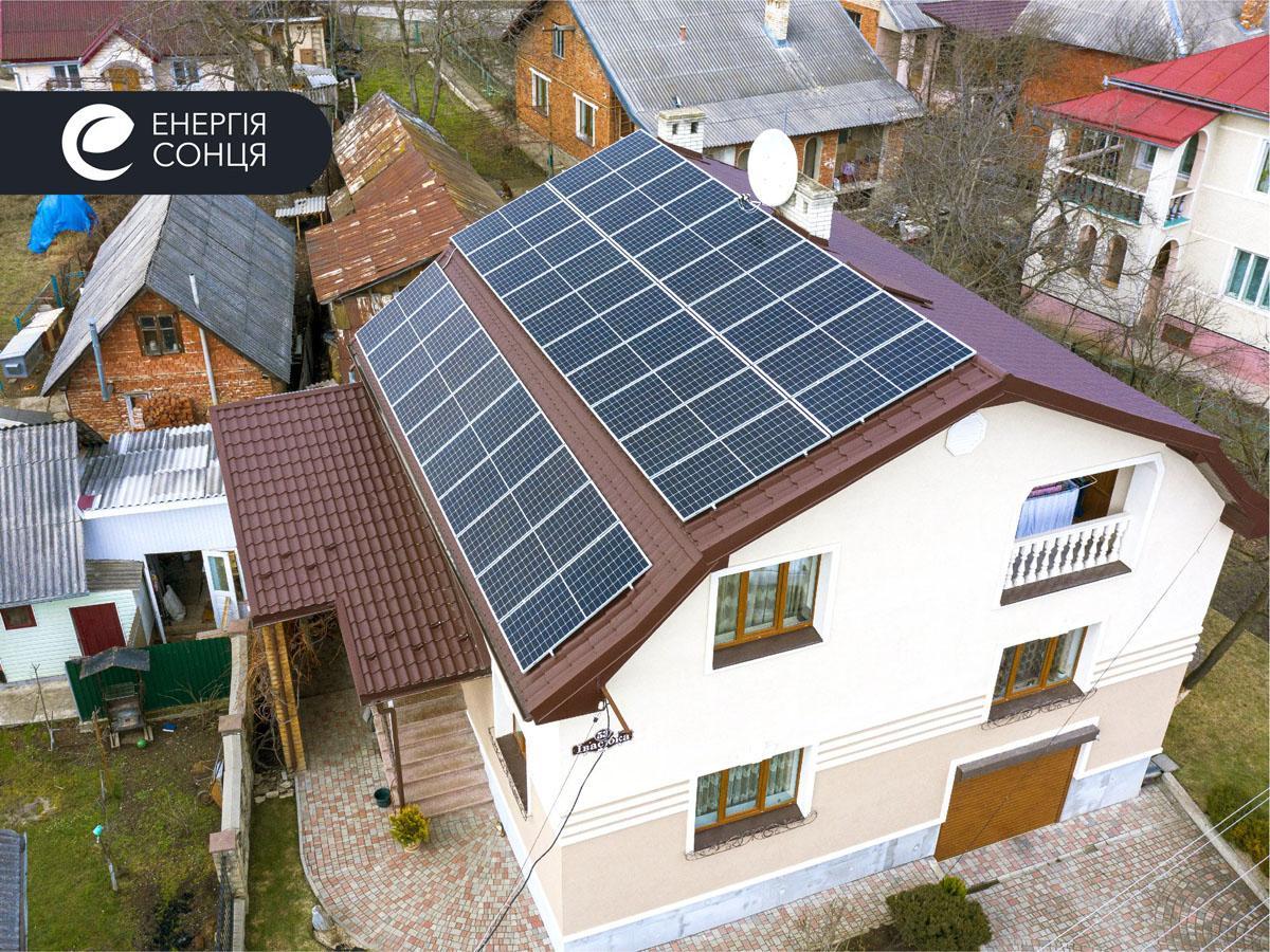 Мережева сонячна електростанція (СЕС) потужністю 12,75 кВт – Фотозвіт #1