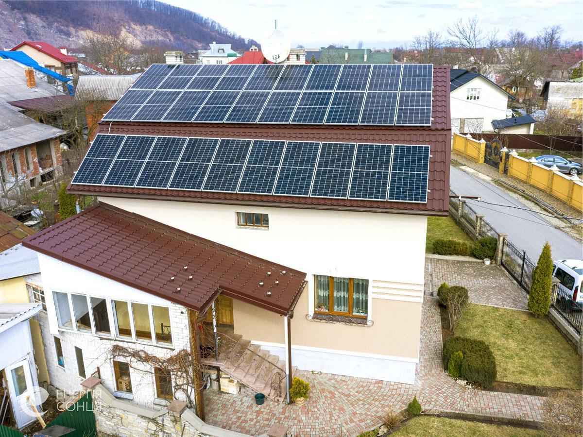 Мережева сонячна електростанція (СЕС) потужністю 12,75 кВт – Фотозвіт #3