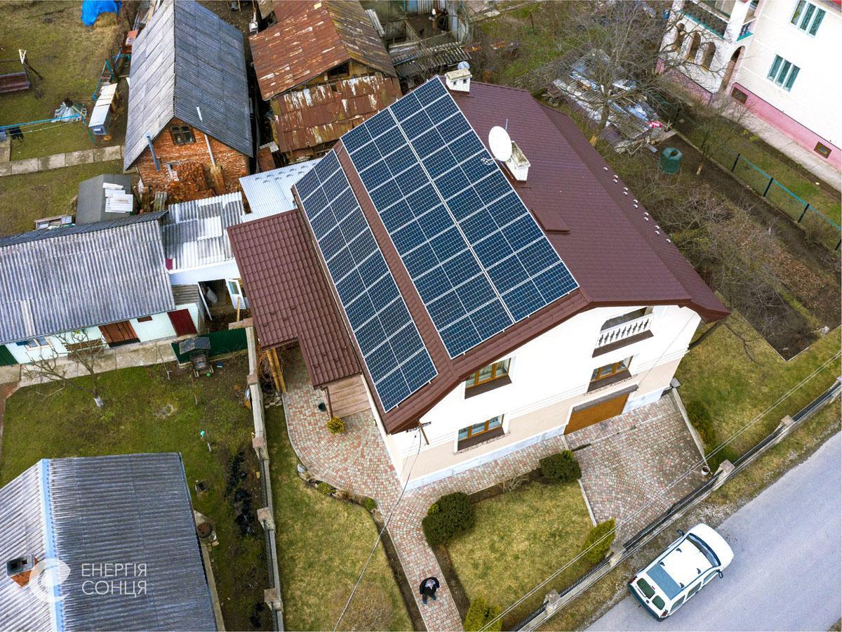 Мережева сонячна електростанція (СЕС) потужністю 12,75 кВт – Фотозвіт #4