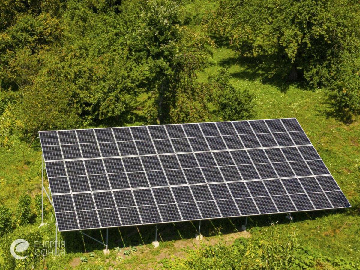 Мережева сонячна електростанція (СЕС) потужністю 18,225 кВт – Фотозвіт #2