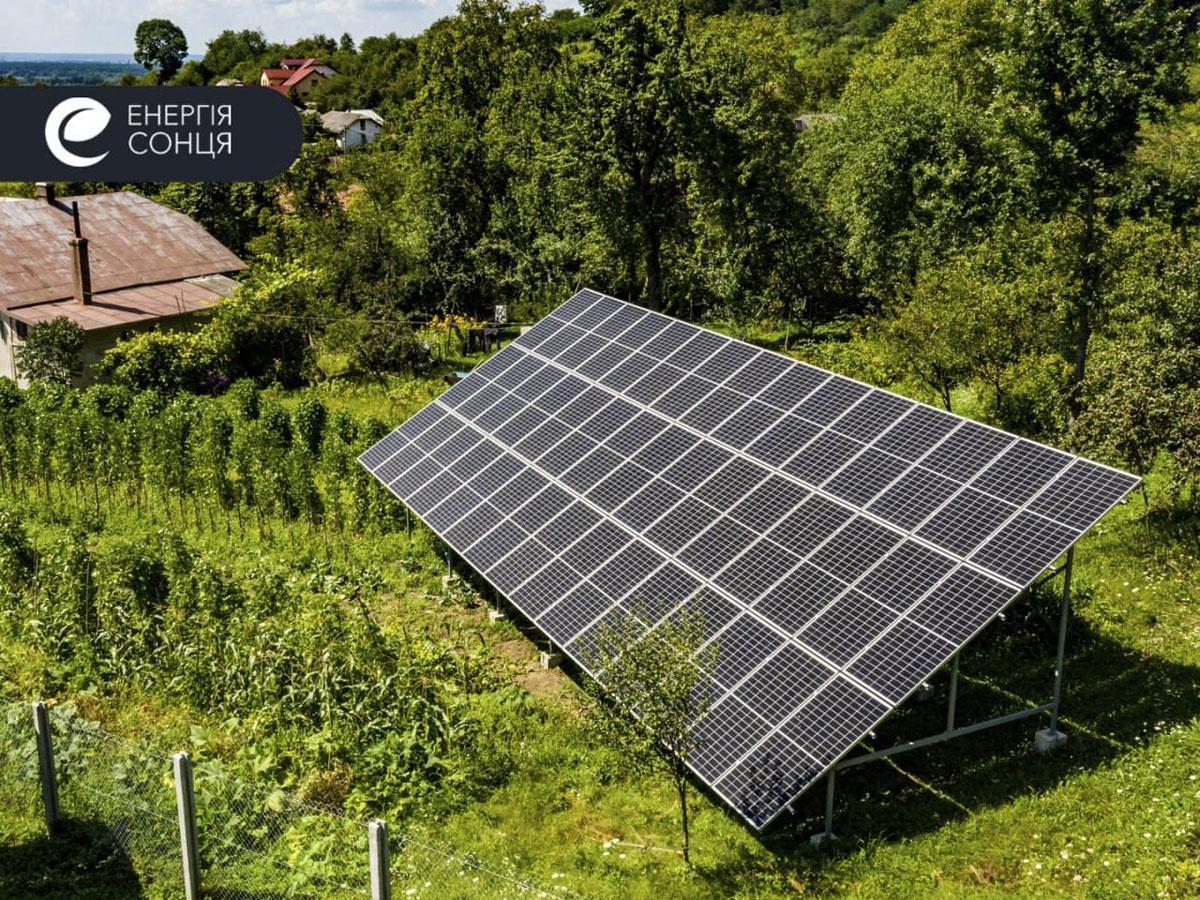 Мережева сонячна електростанція (СЕС) потужністю 18,225 кВт – Фотозвіт #1