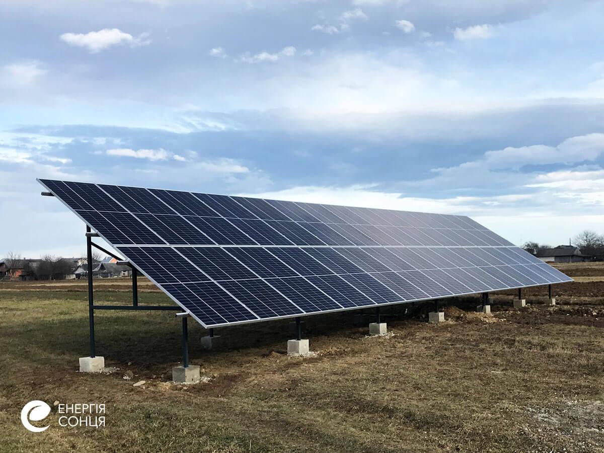 Мережева сонячна електростанція (СЕС) потужністю 15 кВт – Фотозвіт #2