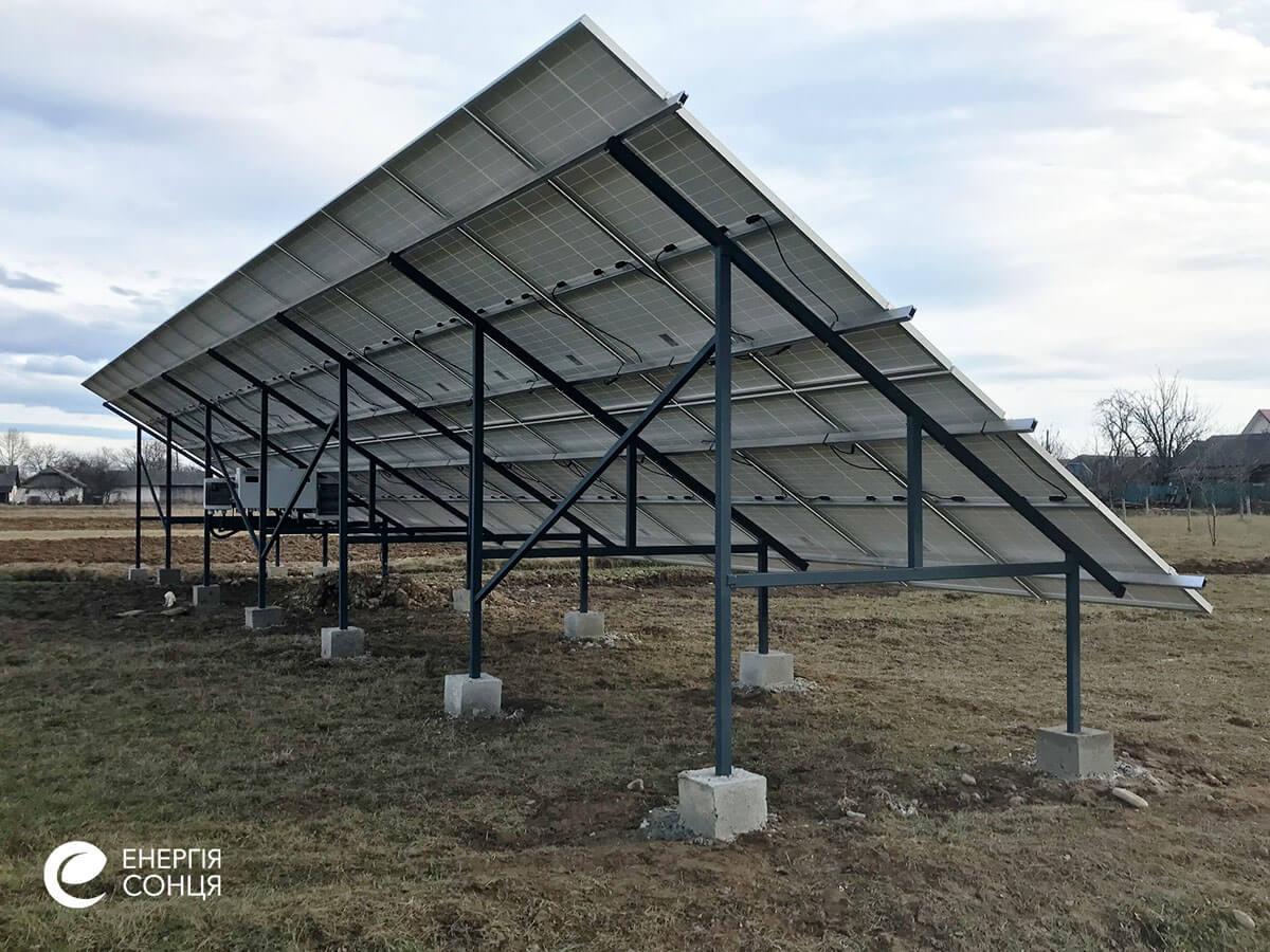 Мережева сонячна електростанція (СЕС) потужністю 15 кВт – Фотозвіт #3