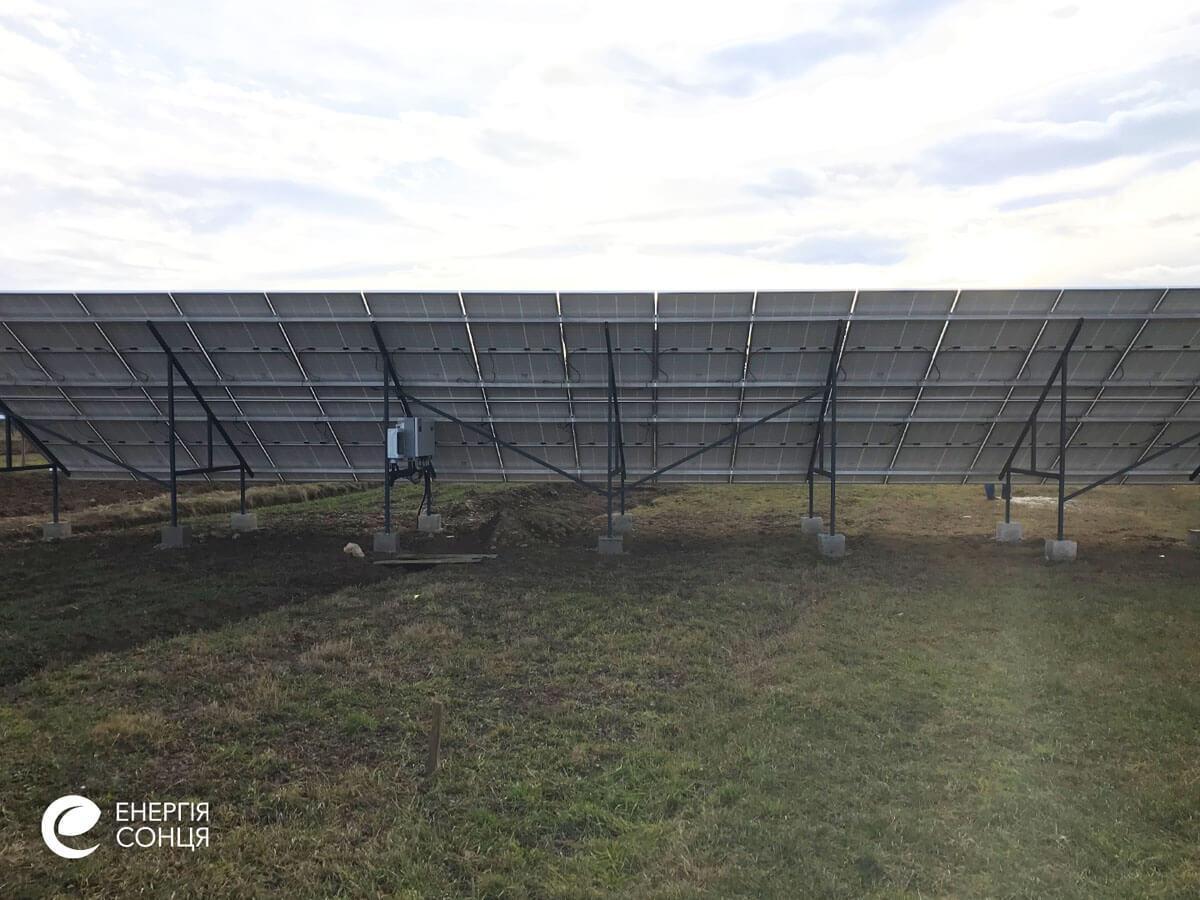 Мережева сонячна електростанція (СЕС) потужністю 15 кВт – Фотозвіт #4