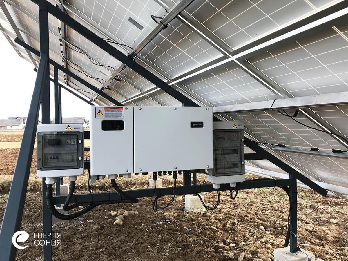 Мережева сонячна електростанція (СЕС) потужністю 15 кВт – Фотозвіт #5